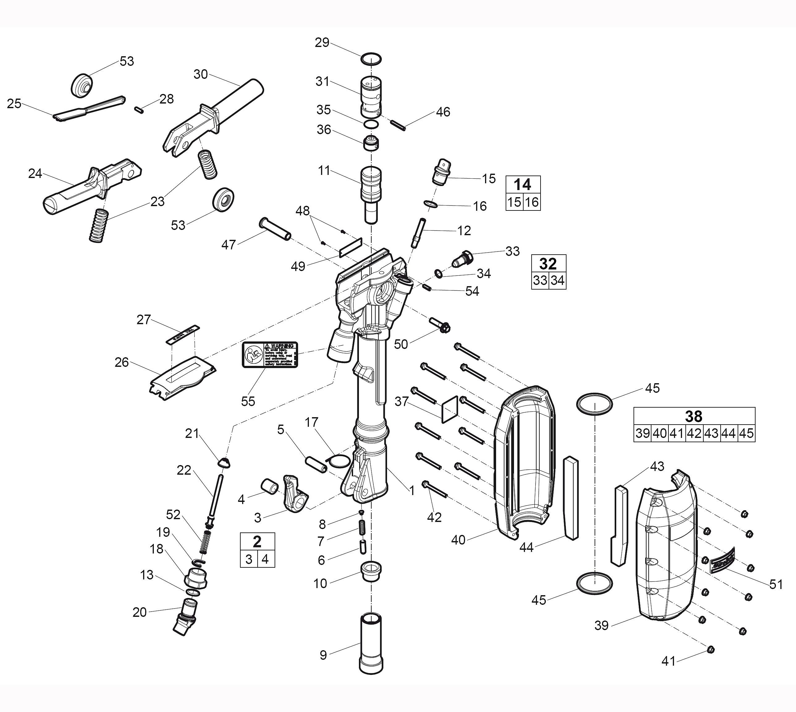 Atlas Copco Diagram 6 Wire Pin Schematics Wiring Diagrams 8 Trailer Connector Tex 280pe 69lb Paving Breaker Page 1 Of Rh Toolsrenewedparts Com 12 Plug
