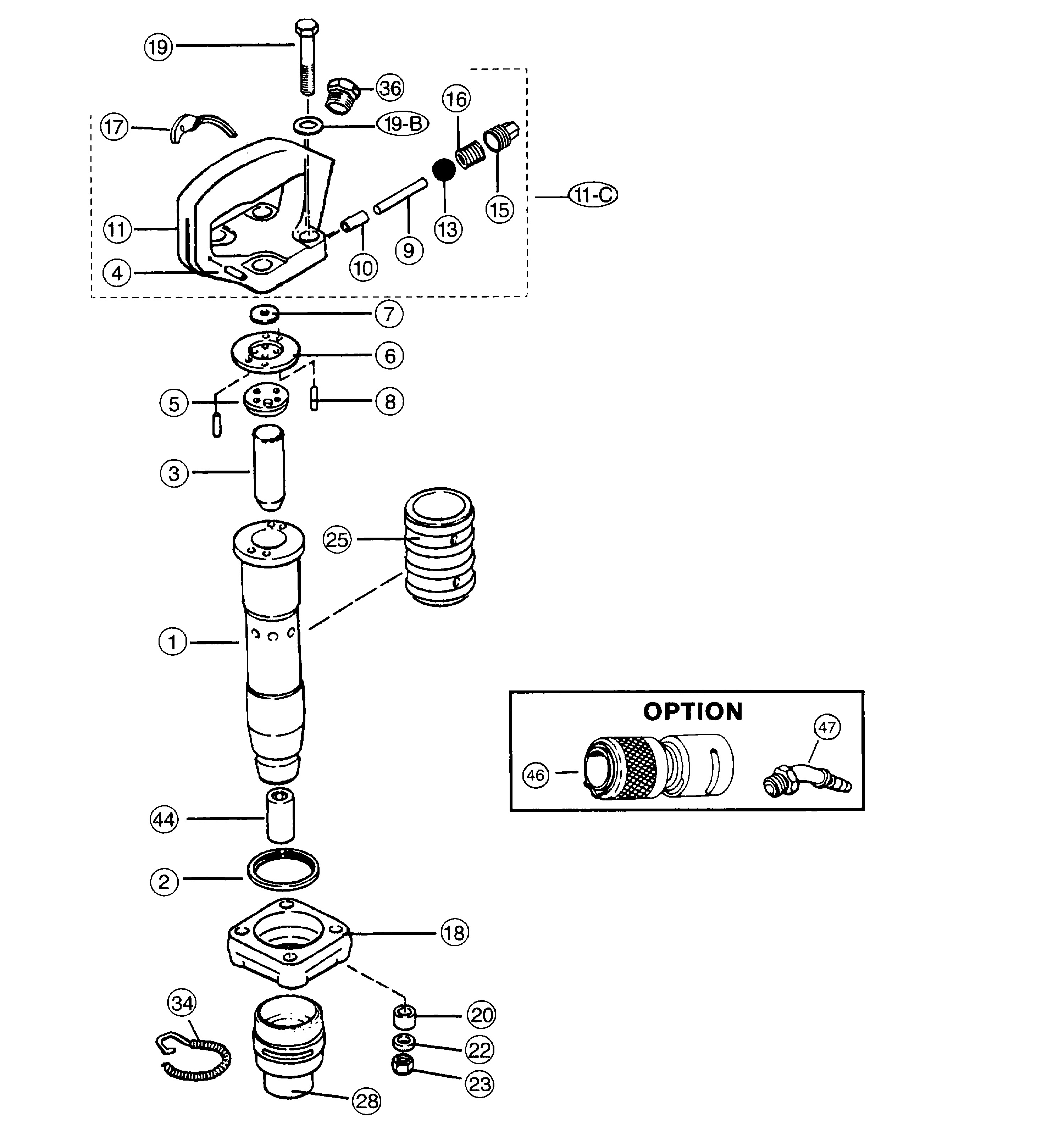 Atlas Copco Throttle Spring Diagram Electrical Wiring Diagrams Tex 319 Chipping Hammer Page 1 Of
