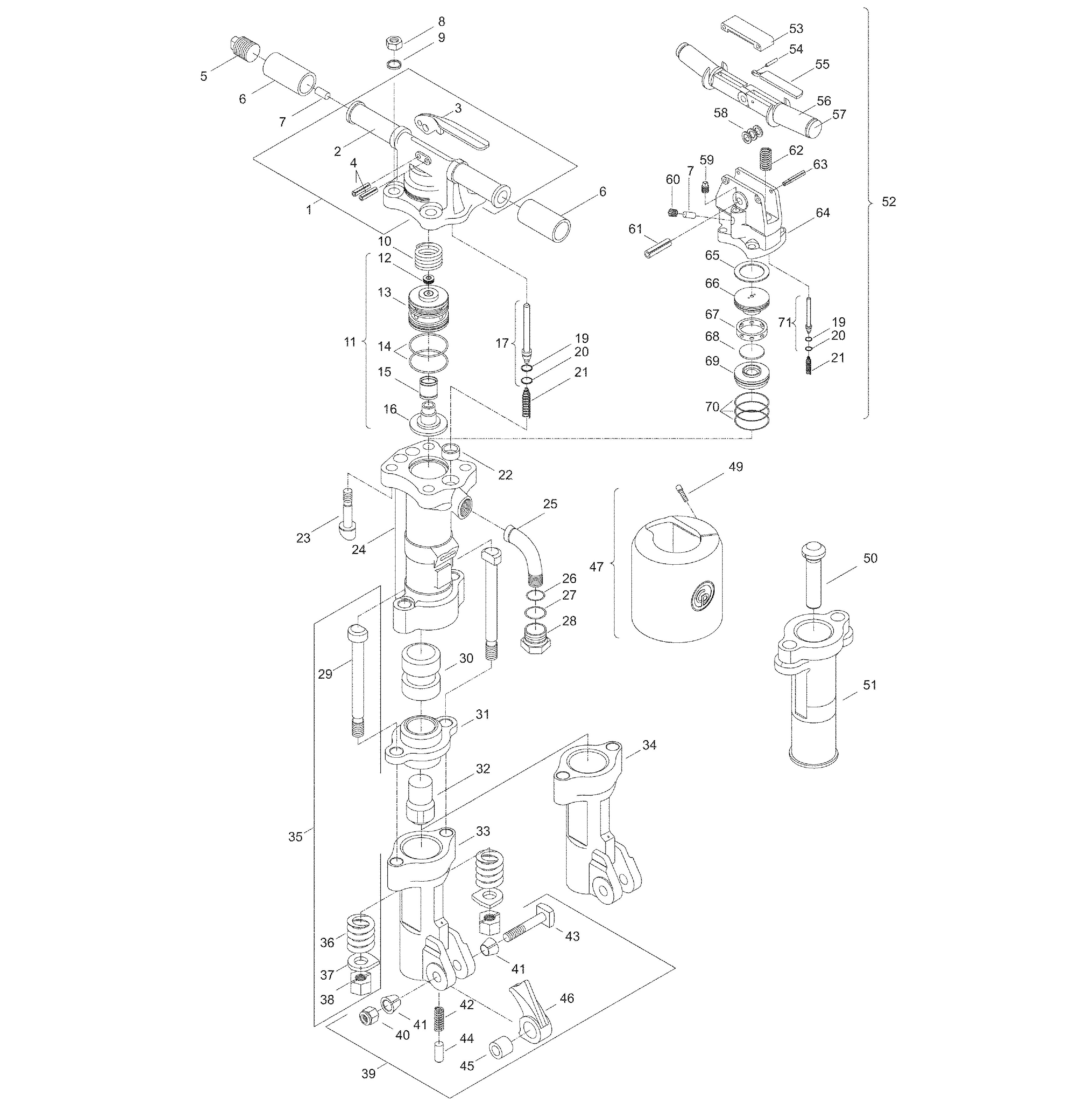 cp 1230 paving breaker 60 lb disc page 1 of 1 rh toolsrenewedparts com ditch witch 1230 parts diagram Ditch Witch 1230 Parts Belts