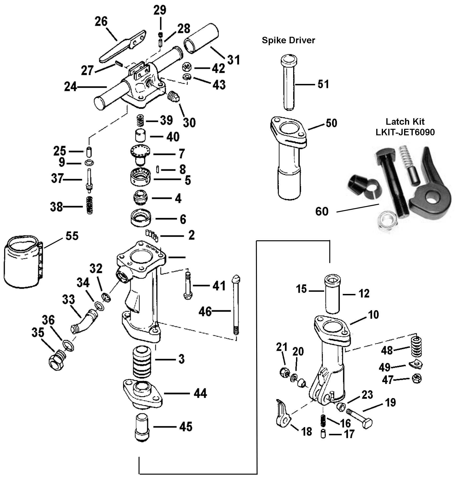 Air Jack Hammer Assembly Diagram Great Installation Of Wiring Rotary Engine Chainsaw Pb 90 Paving Breaker 90lb Page 1 Rh Toolsrenewedparts Com 1012 A Parts